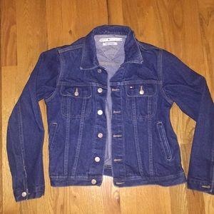 Vintage Tommy Hilfiger denim jacket